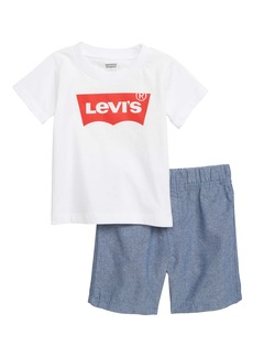 Levi's® Logo T-Shirt & Shorts Set (Baby)