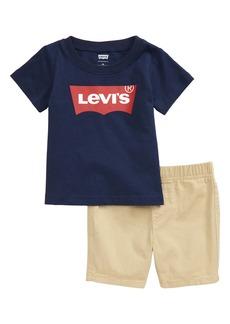 Levi's® Logo T-Shirt & Shorts Set (Baby)