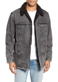 Levi's® Long Fleece Lined Trucker Jacket