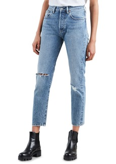Levi's Made & Crafted 501 High-Rise Cropped Skinny Jeans