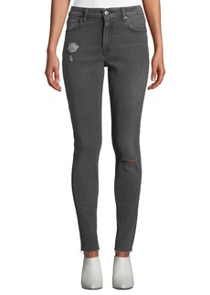 Levi's Made & Crafted 721 Mid-Rise Skinny Ankle Jeans