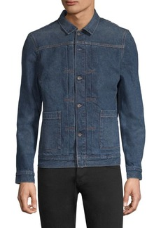 Levi's Made & Crafted Cotton Trucker Shirt
