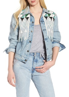 Levi's® Made & Crafted™ Embellished Boyfriend Trucker Jacket