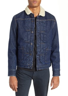 Levi's Made & Crafted™ Faux Shearling Lined Denim Jacket
