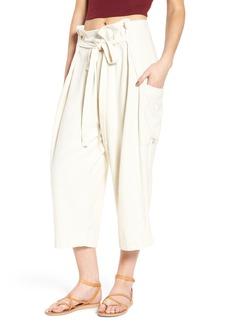 Levi's® Made & Crafted™ High Waist Crop Silk Beach Pants