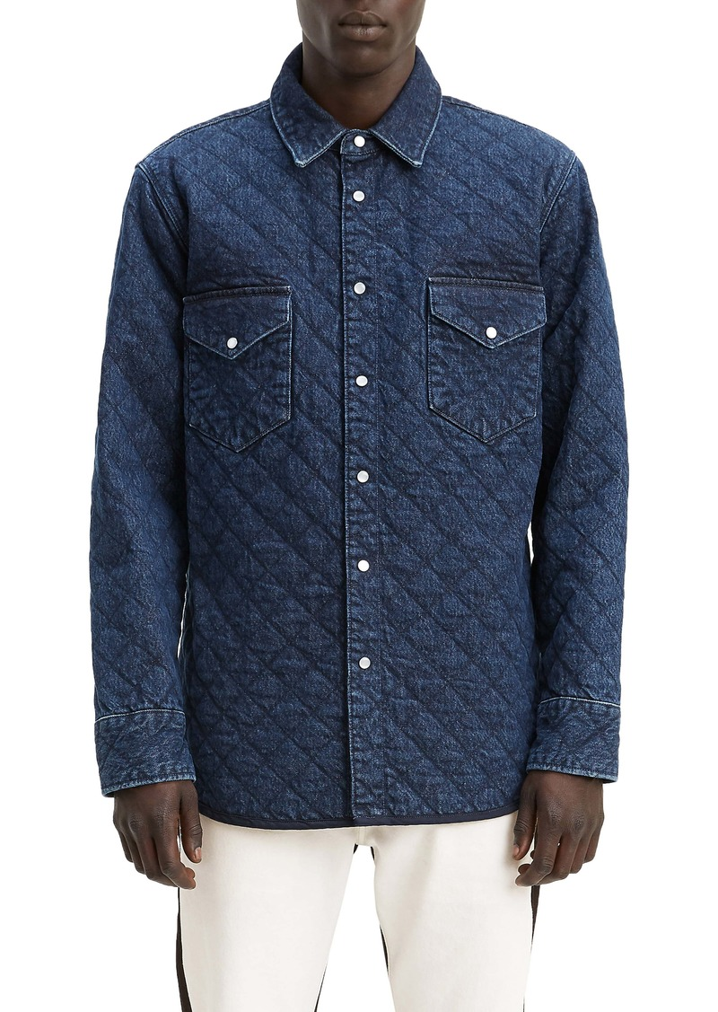 Levi's® Made & Crafted™ Quilted Western Shirt Jacket