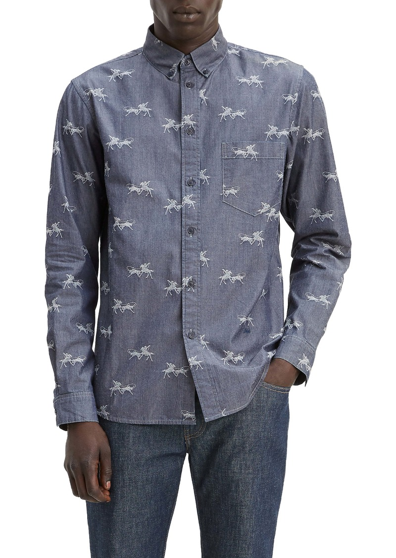 Levi's® Made & Crafted™ Regular Fit Button-Down Shirt