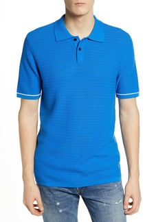 Levi's® Made & Crafted™ Regular Fit Crochet Stitch Polo