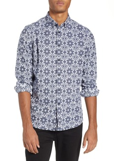 Levi's® Made & Crafted™ Standard Geo Jacquard Sport Shirt