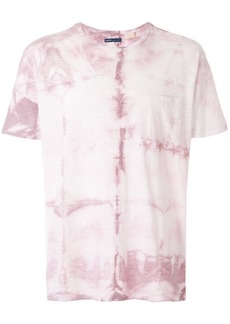 Levi's: Made & Crafted tie-dye fitted T-shirt - Pink & Purple