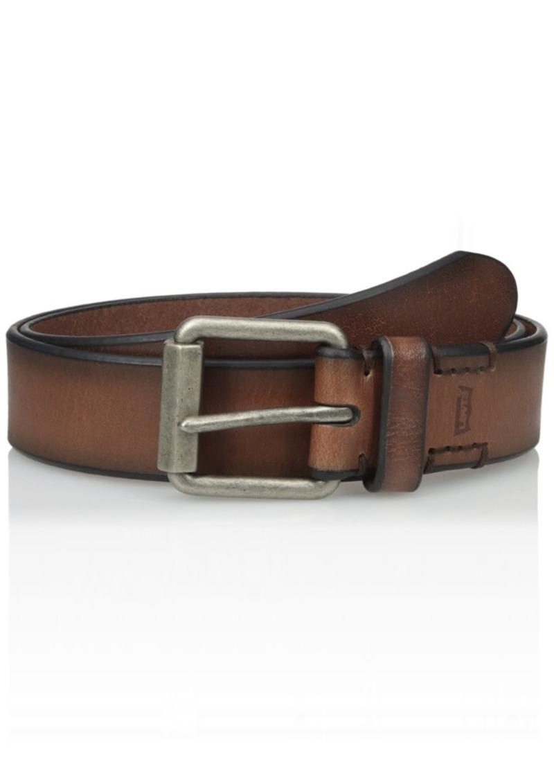 Levi's Men's 1 1/2-Inch Beveled Roller Buckle Belt