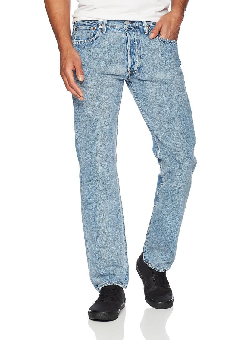 6228fa7f832 Levi's Levi's Men's 501 Original Fit Jean Queens Keep-Warp Stretch ...