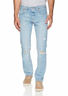 Levi's Men's 501 Original-Fit Jeans Damaged Hector/warp Stretch