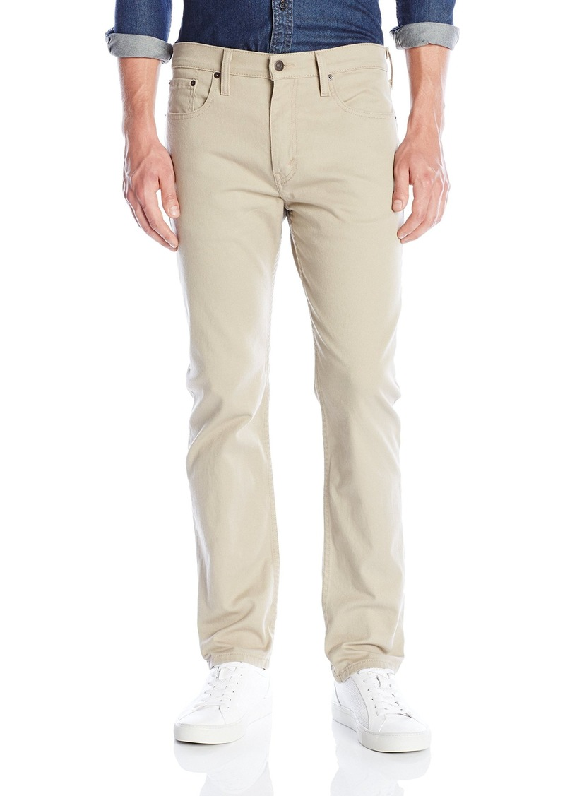 hot-selling official buy real professional sale Men's 502 Regular Taper Jean True Chino/Bull Denim-Stretch 29Wx32L