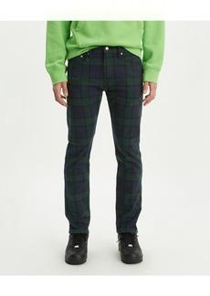 Levi's Men's 502 Taper Plaid Twill Jeans