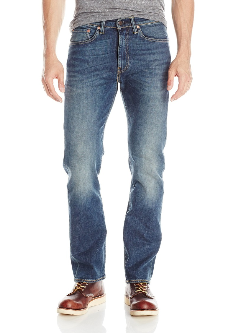 2f55be23db0f Levi s Levi s Men s 505 Regular Fit Strong Jean Sea Drift33Wx34L