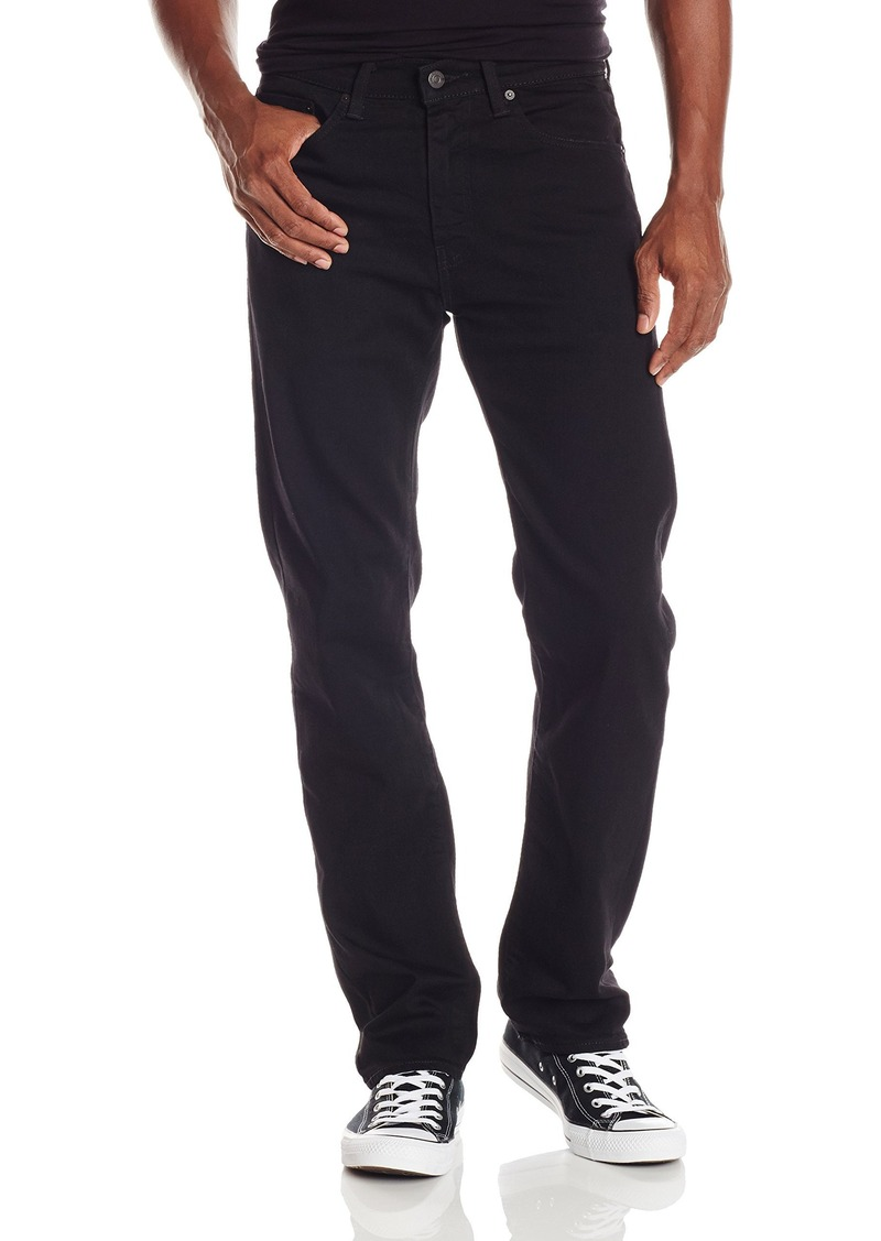 4ed007879ef2 Levi s Men s 505 Regular Fit Strong Jean Strong Black Rinse32Wx34L
