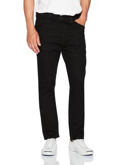 Levi's Men's 508 Regular Taper Fit Line 8 Jean Black/Black 3D 28x32
