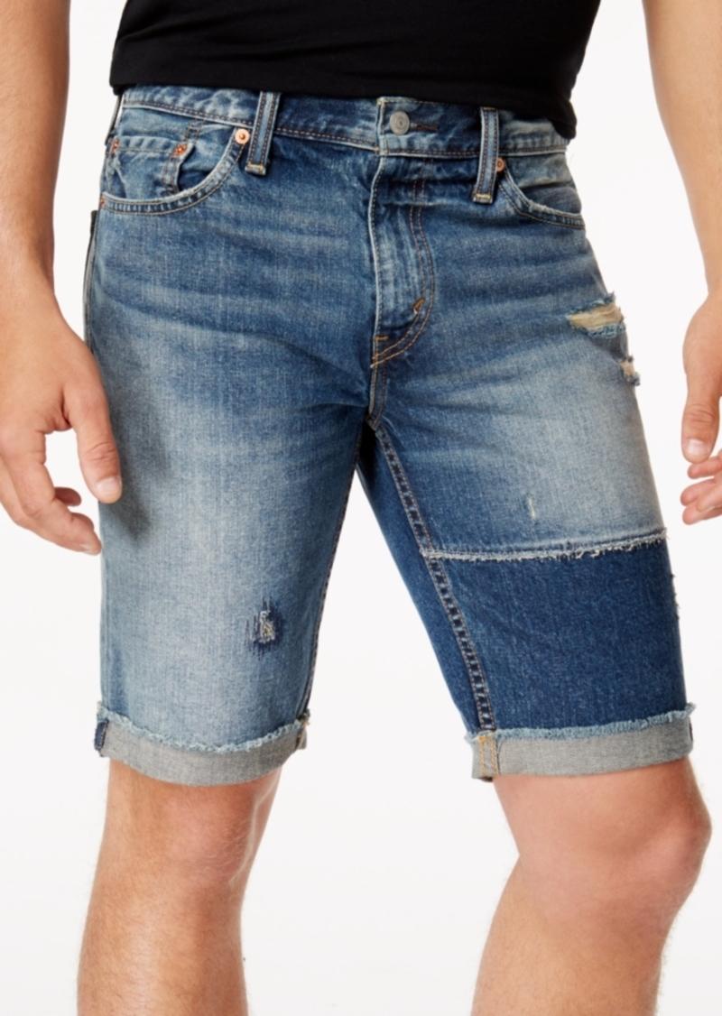 47890935 SALE! Levi's Levi's Men's 511 Slim-Fit Cutoff Ripped Jean Shorts