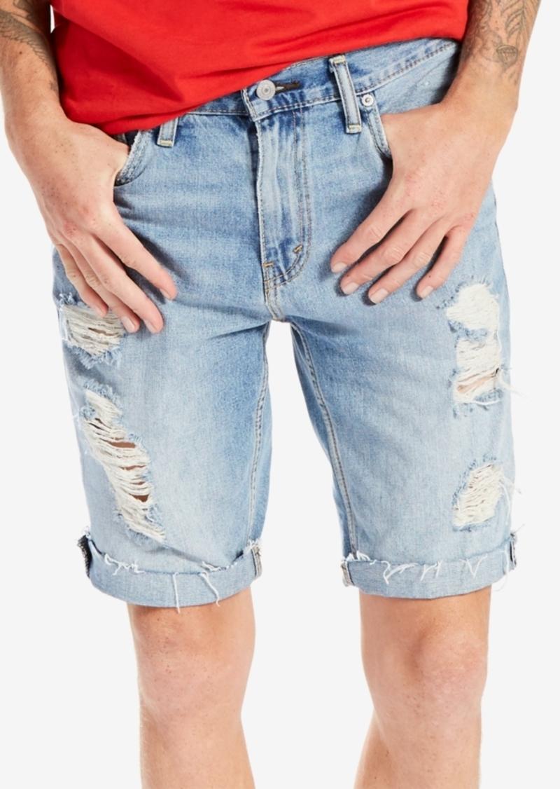 Levi's Levi's Men's 511 Slim-Fit Cutoff Ripped Jean Shorts ...