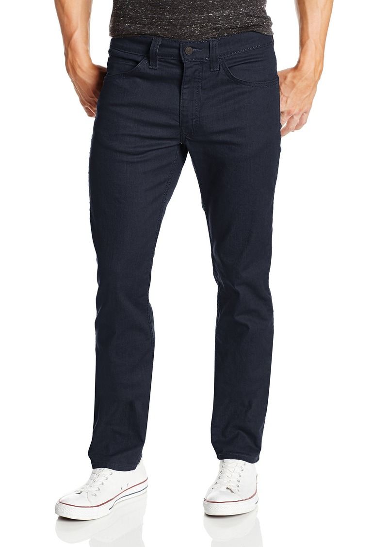 Levi S Levi S Men S 511 Slim Fit Line 8 Jean Black Indigo