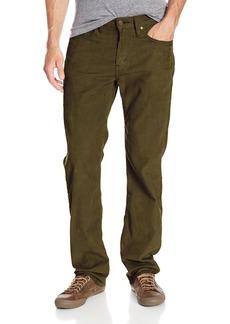 Levi's Men's 514 Straight Fit Corduroy Pant Burnt Olive 32x34