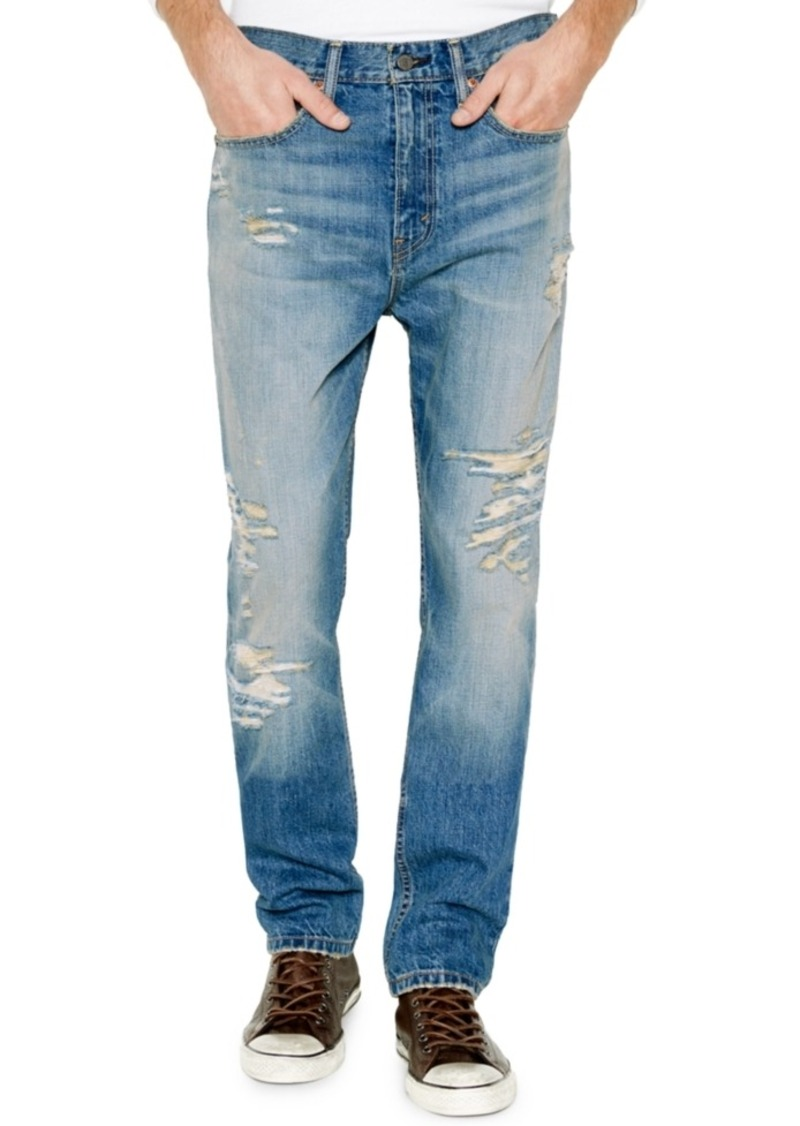 Levi's Men's 514 Straight Fit Ripped Jeans - Levi's Levi's Men's 514 Straight Fit Ripped Jeans Jeans - Shop
