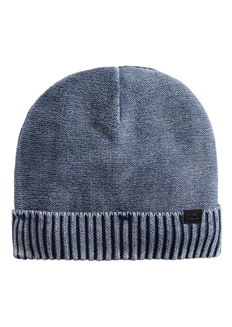 Levi's Men's Acid Wash Cuffed Beanie