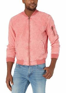 Levi's Men's Acid Washed Cotton Bomber Jacket