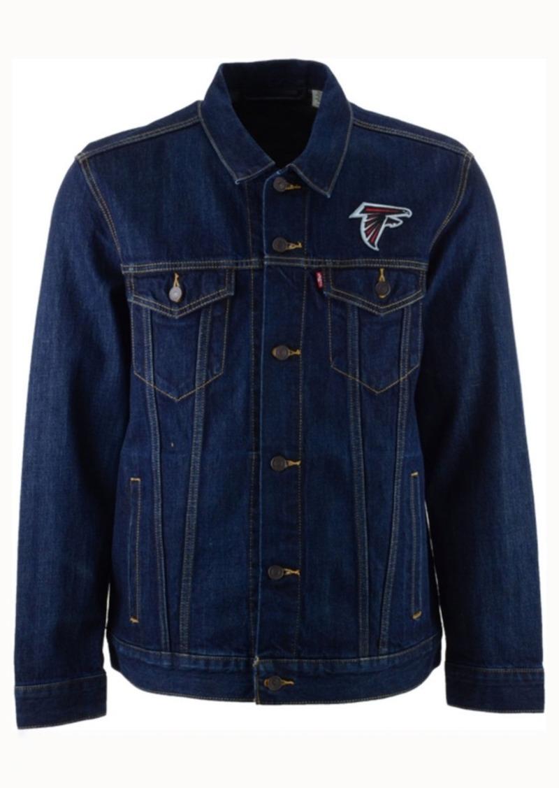 Levi's Men's Atlanta Falcons Trucker Jacket