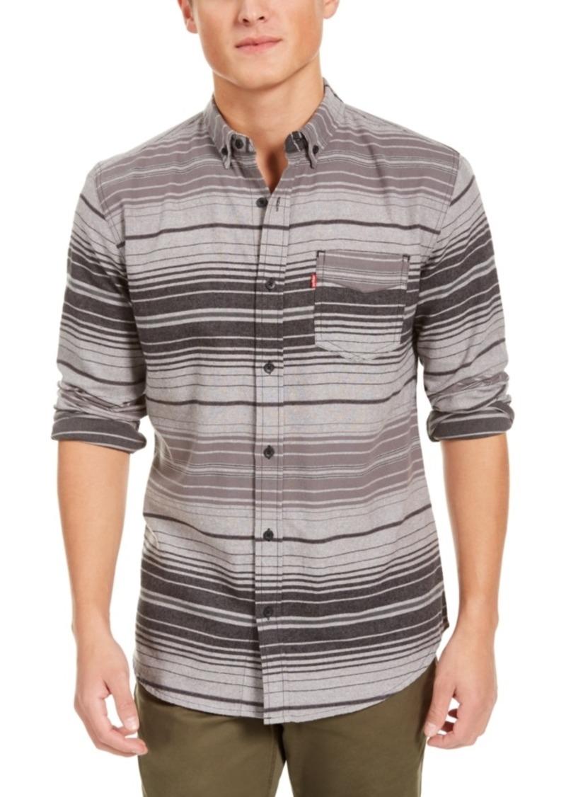 Levi's Men's Avalon Striped Flannel Shirt