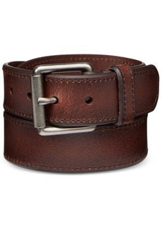 Levi's Men's Beveled-Edge Leather Belt