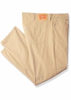 Levi's Men's Big and Tall 502 Regular Taper Pant Harvest Gold/warp Stretch