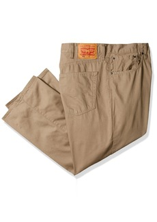 Levi's Men's Big and Tall Big & Tall 559 Relaxed Straight Fit Pant Timberwolf/slub Twill