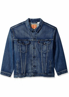 Levi's Men's Big and Tall Trucker Jacket Colusa/stretch L