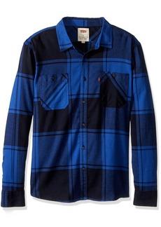 Levi's Men's Bookie Long Sleeve Flannel Woven