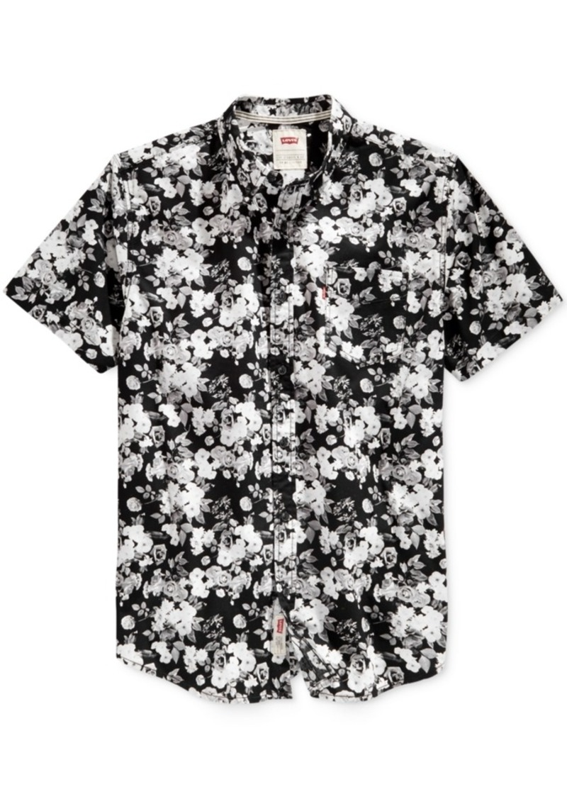 Levi's Men's Brody Floral-Print Short-Sleeve Shirt