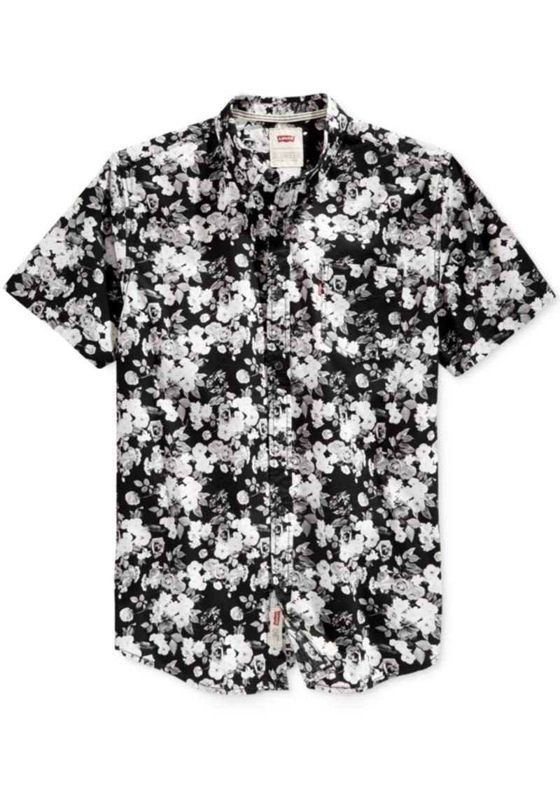 2ca44802ce9 Levi s Levi s Men s Brody Floral-Print Short-Sleeve Shirt