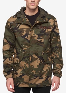 Levi's Men's Camo-Print Hooded Parka