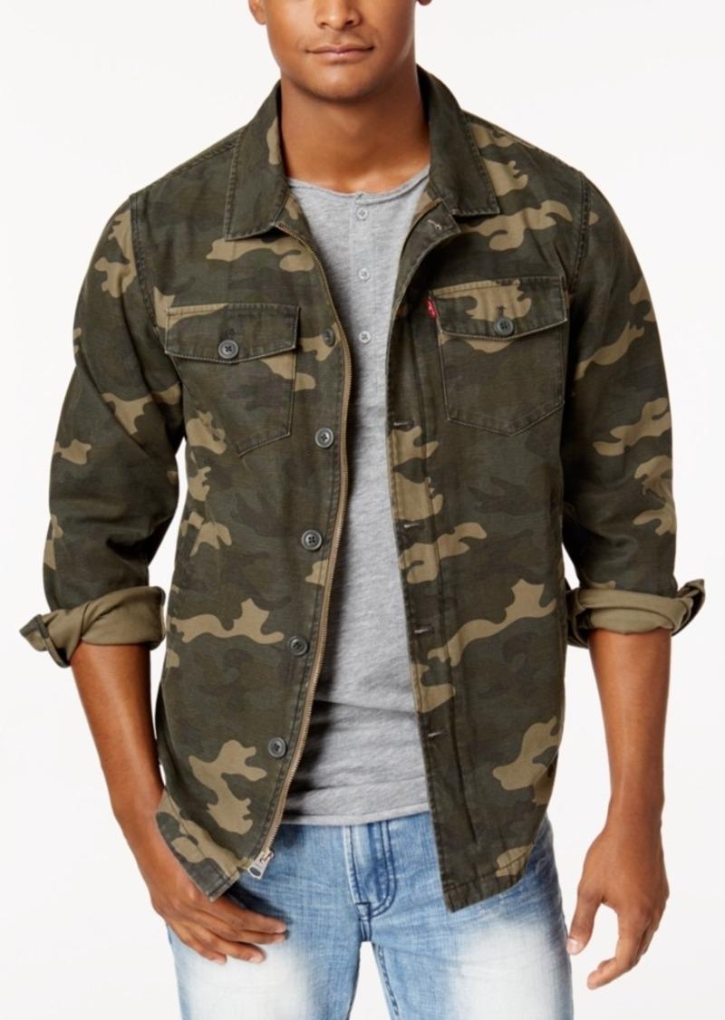 Levi s Levi s Men s Camo Shirt Jacket  7a8c0f1cee6