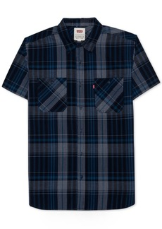 Levi's Men's Capetown Plaid Poplin Shirt