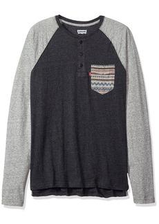 Levi's Men's Chabot Long Sleeve Snow Jersey Shirt