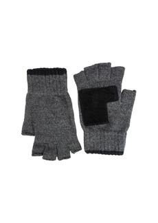 Levi's Men's Classic Fingerless Marled Knit Gloves