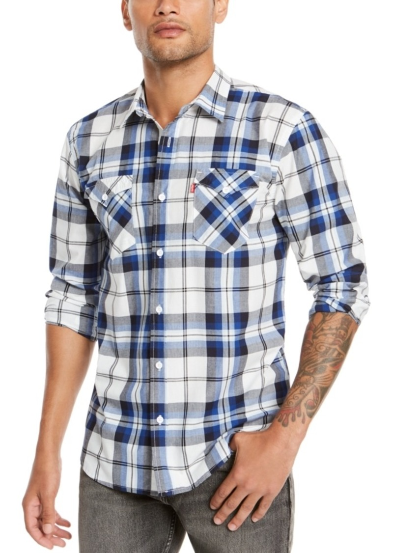 Levi's Men's Clemente Regular-Fit Plaid Shirt