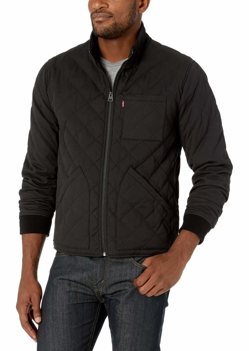 Levi's Men's Cotton Canvas Diamond Quilted Hunting Jacket