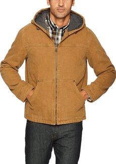Levi's Men's Cotton Canvas Fleece Lined Hoody Jacket