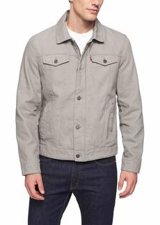 Levi's Men's Cotton Canvas Laydown Trucker Jacket