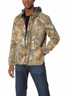 Levi's Men's  Cotton Hooded Shirt Jacket