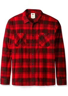 Levi's Men's Currant Long Sleeve Twill Woven