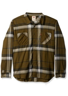 Levi's Men's Denhall Long Sleeve Flannel Shirt